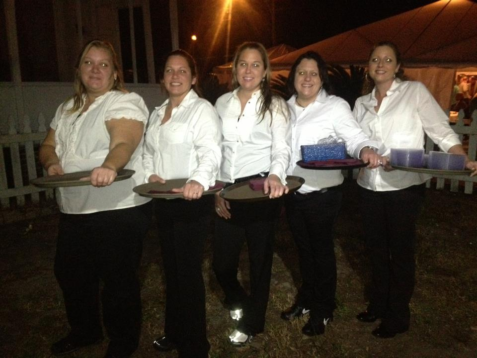 Sprague House Servers - Catering Services