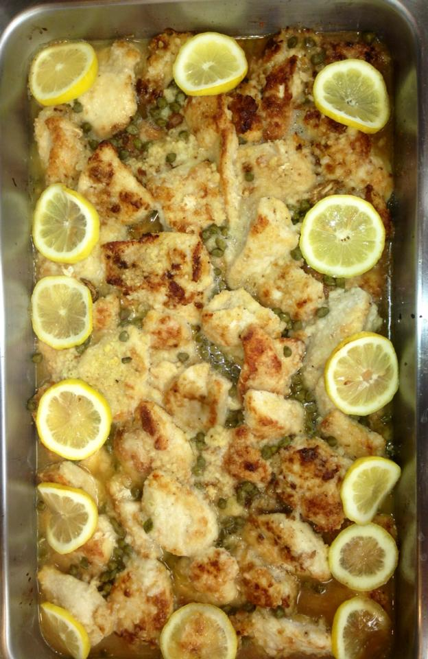 Sprague Signature Dishes Catering Services - Chicken Piccata